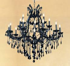 Maria Theresa Chandelier Maria Theresa Large Black Chandelier Town U0026 Country Event Rentals