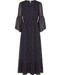 maxi kjoler yasjuniper maxi kjole fra yas køb online på magasin dk
