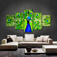 online get cheap peacock wall mirror paintings pictures