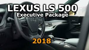 lexus ls backseat 2018 lexus ls 500 with executive package interior all new lexus