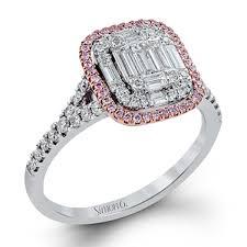 simon g engagement rings simon g engagement rings mosaic 73ctw accents