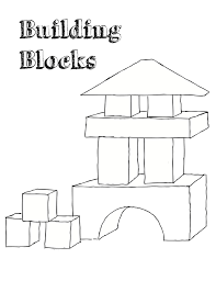block coloring pages fleasondogs org