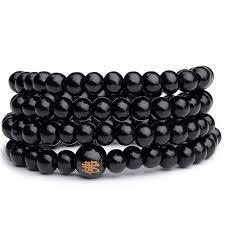 black beaded charm bracelet images Fashion men women infinity multilayer beaded charm bracelet jpg