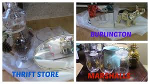 Home Decor Thrift Store Home Decor Haul Thrift Store Marshalls Burlington U0026 Target