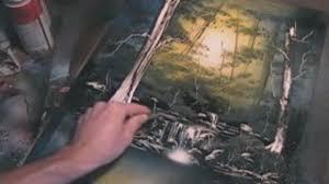 Amazing Spray Paint - amazing spray painting nature scene video dailymotion