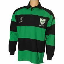 irish rugby shirt shamrock crest