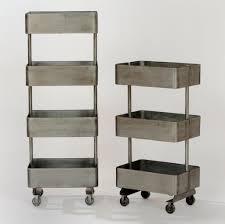 storage u0026 organization metal rolling shelving unit ideas best