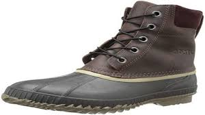 sorel mens cheyanne lace full grain cold weather boot youtube