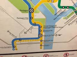Metrorail Map Potomac Yard Metro Station In The System Not On The Map Red