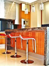 modern and traditional kitchen modern metal bar stools with red seat for luxury contemporary