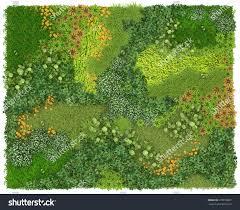vertical garden vertical garden background texture green wall stock illustration