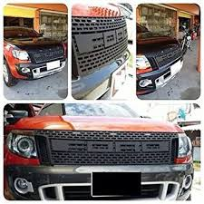 front grill ford ranger amazon com raptor front grill grille awesome black lit ford