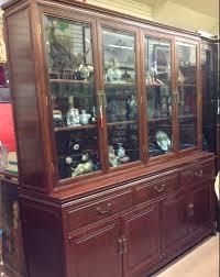 Large Vintage Rosewood China Cabinet Sold Golden Age Vintage