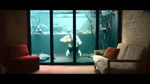 modern large large fish tanks can be decor with warm ligthting can