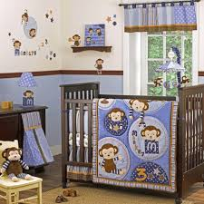Monkey Decor For Nursery Baby Nursery Gorgeous Baby Room Decoration With Brown Crib