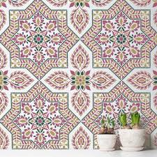 Tile Wallpaper Portuguese Tile Stencil Pattern Azulejos Tile Design