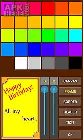 greeting card editor for android free download at apk here store