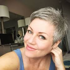 grey hair in 40 s short grey haircuts over 40s pinterest short grey haircuts
