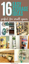 16 easy storage ideas for small spaces ideal me