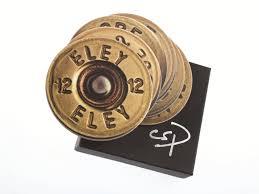 mixed shotgun cartridge coasters shooting gifts