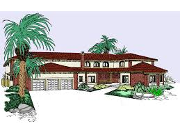 elias place spanish style home plan 085d 0788 house plans and more
