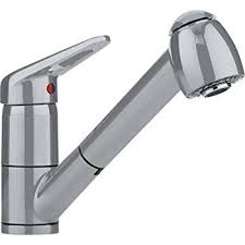 pull out spray kitchen faucet franke ffps1380 single handle pull out spray kitchen faucet satin