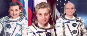 international space station soyuz 2 taxi flight crew
