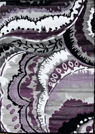 Black And Purple Area Rugs Purple And Grey Rug Bikepool Co