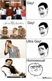 Gay Gay Gay Meme - id one direction rollers gay gay ultra gay homosexual one