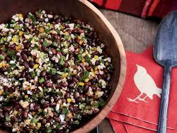 quinoa thanksgiving recipes black bean and quinoa salad recipe ken oringer food u0026 wine