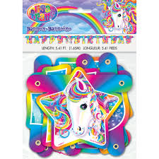 lisa frank rainbow majesty birthday banner walmart com