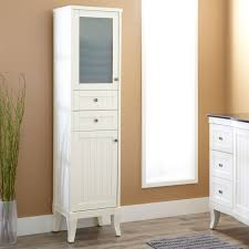 White Tall Bathroom Cabinet by Bathroom Cabinet White Wood Benevolatpierredesaurel Org