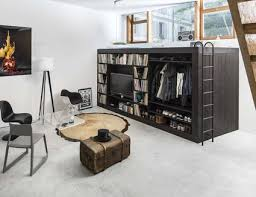Efficiency Apartment Ideas 25 Adult Loft Bed Ideas For Small Rooms And Apartments