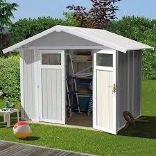 abri de jardin 9m2 abri de jardin pvc grosfillex utility 4 90 m2 trigano store