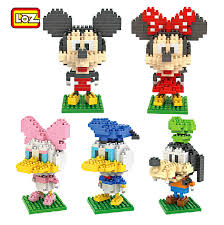 aliexpress buy loz diamond blocks mickey dasiy goofy mini