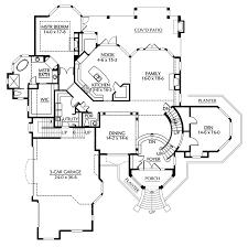 luxury home plans traditional house plan floor 071d 0251 from houseplansandmore