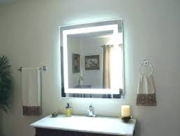 vanity led light mirror amusing bathroom mirror with lights behind architecture and light