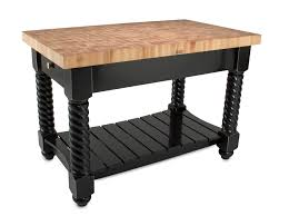 Kitchen Island Work Table Kitchen Carts Islands Work Tables And Butcher Blocks Regarding