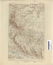 University Of Montana Map Montana Topographic Maps Perry Castañeda Map Collection Ut