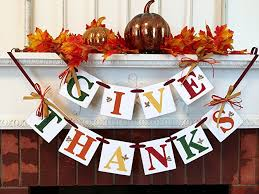 give thanks banner fall hostess gift thanksgiving