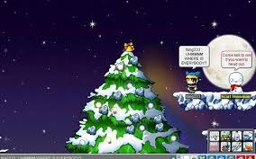 Decorate The Christmas Tree Maplestory by 16x Night Lord Damage
