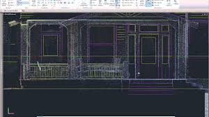 autocad drawings from point clouds youtube