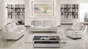 modern steel legs white leather sofa set with sofa loveseat chair