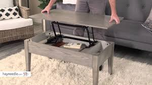 turner lift top coffee table gray product review video youtube