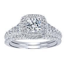 halo engagement rings 14k white gold halo engagement ring er11876r0w44jj