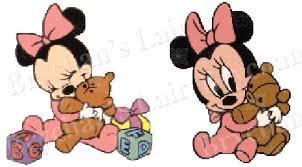 baby minnie mouse teddy bear novelty craft supply grosgrain ribbon