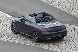 Top Muscle Cars - spy images from drop top 2017 mercedes benz c class 8 muscle