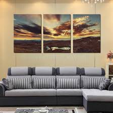 Peinture Moderne Pour Salon by Oasis Paysage Peinture Achetez Des Lots à Petit Prix Oasis Paysage