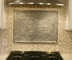 How To Put Up Tin Ceiling Tiles by Tin Ceiling Backsplash Diy Home Decor Blogs