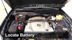 cadillac cts battery location battery replacement 2004 2009 cadillac srx 2007 cadillac srx